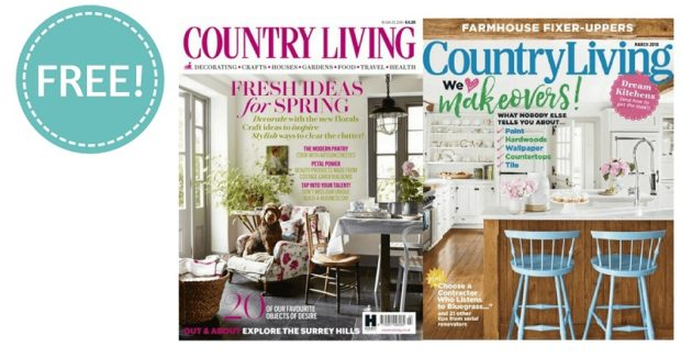 Free country living magazine recipes daily freebies for Country living magazine recipes