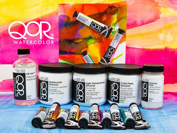 Professional Watercolors For World Watercolor Month Giveaway