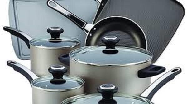 Farberware High Performance Nonstick Aluminum 17-Piece Cookware Set Sweepstakes