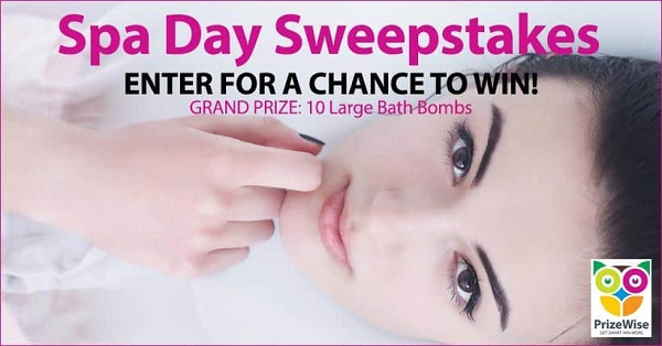 Spa Day Sweepstakes