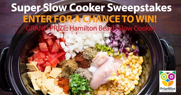 Super Slow Cooker Sweepstakes
