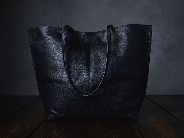 Black Leather Project Bag Giveaway