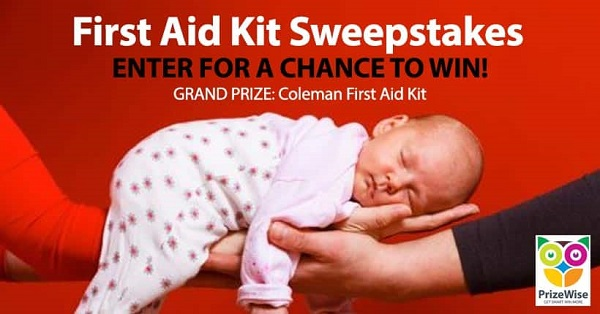 Coleman First Aid Kit Giveaway