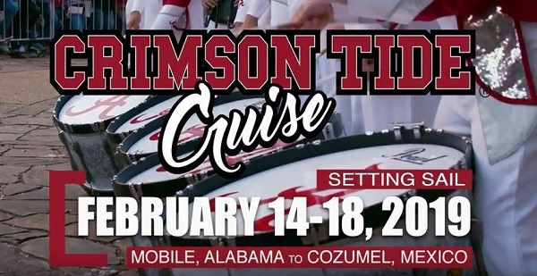 Crimson Tide Cruise Vacation Sweepstakes