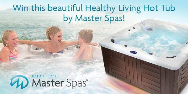 Healthy Living Model HL7 Portable Hot Tub Spa Sweepstakes