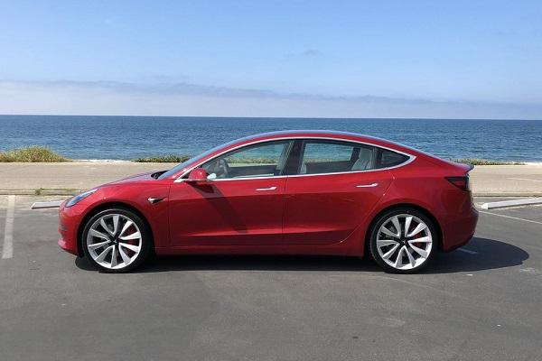 2018 Tesla Model 3 Sweepstakes