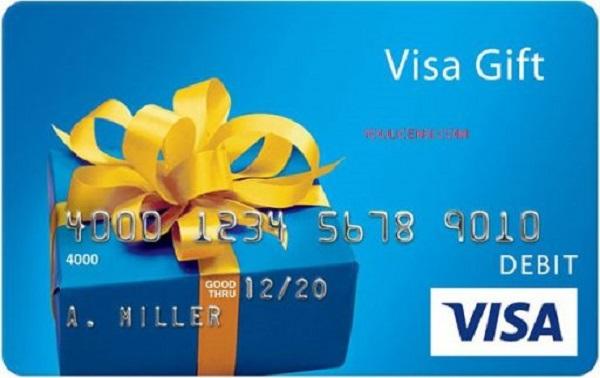 $250 Visa Gift Card Giveaway