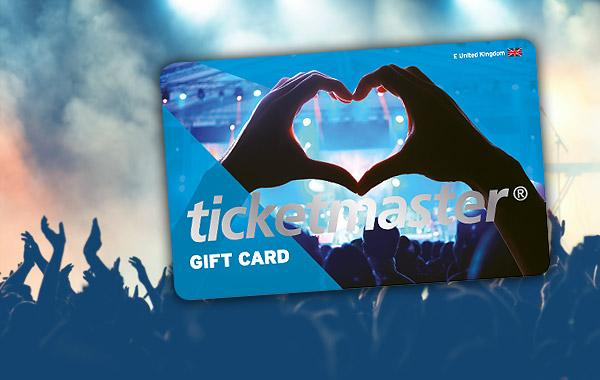 $3,000 Ticketmaster Gift Card Giveaway