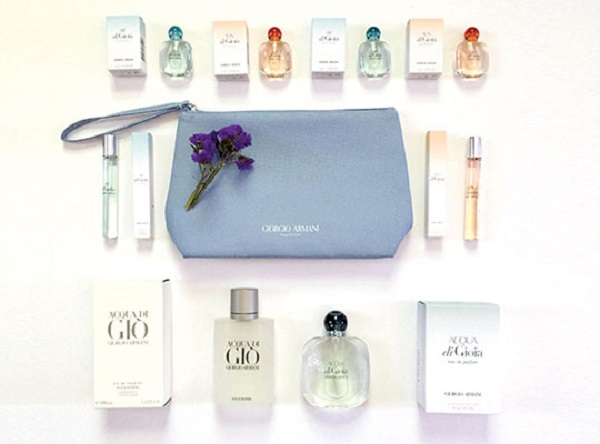 Giorgio Armani Luxury Fragrance Collection Giveaway