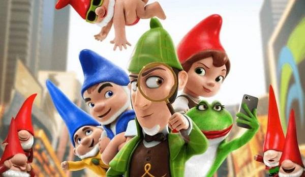 Sherlock Gnomes Blu-Ray, TV And Blu-Ray Player Giveaway