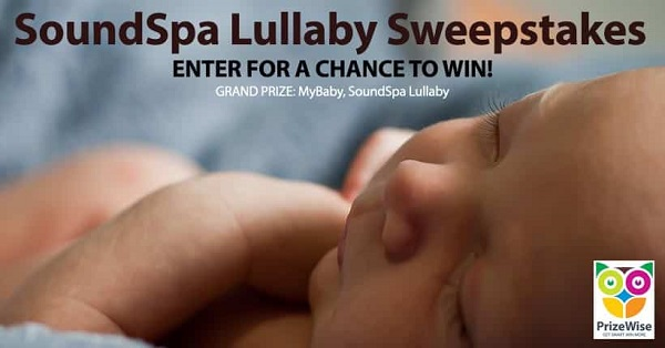 SoundSpa Lullaby Sweepstakes