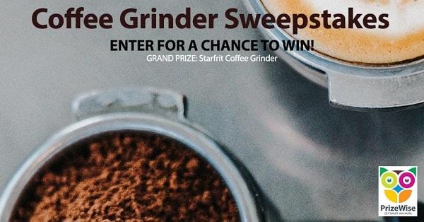 Coffee Grinder Giveaway