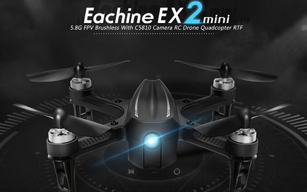 Eachine EX2 Mini Drone Quadcopter With Camera Giveaway