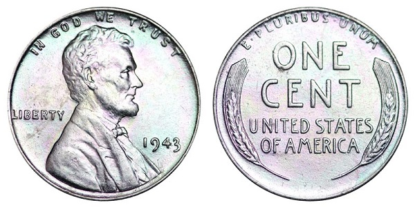 Coin Collector 1943 Lincoln Steel Wheat Cent Sweepstakes