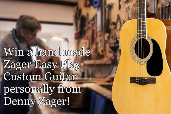 Closing Soon! Zager Acoustic Guitar Pack Sweepstakes