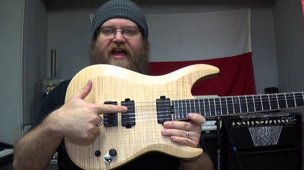 Signed Schecter Keith Merrow KM-6 MK-II Guitar Sweepstakes
