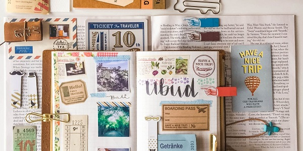 Hand Made Traveler's Journal Giveaway