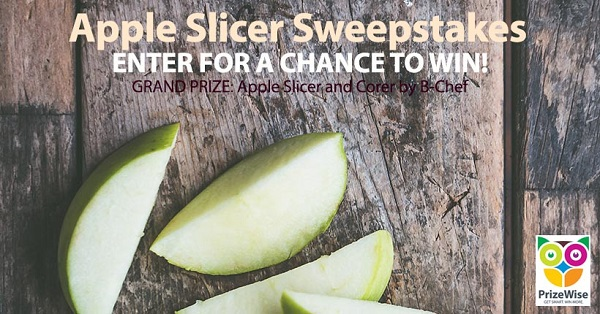 Apple Slicer Sweepstakes