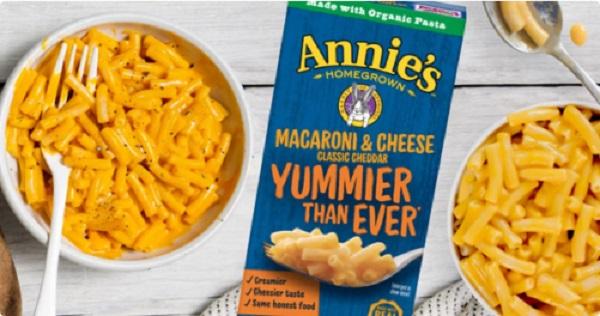 Free Annie's Macaroni & Cheese