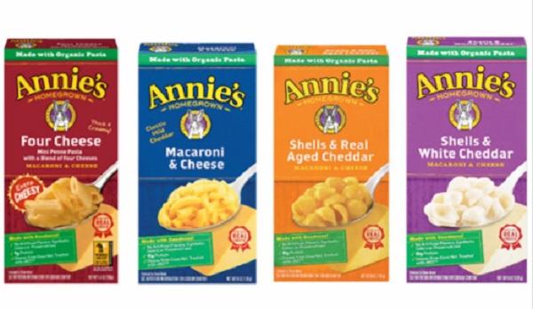 Free Annie's Natural Macaroni & Cheese Box