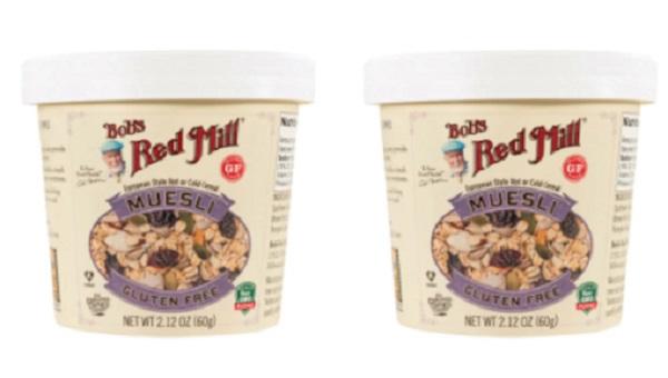 Free Bob's Red Mill Gluten Free Muesli Cups