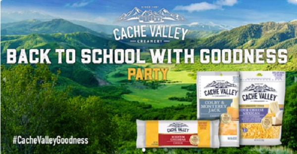 Free Cache Valley Creamery Back to School With Goodness Party