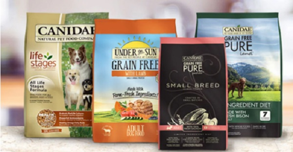 Free Canidae Dog Food