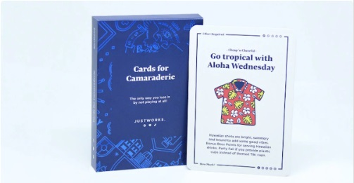 Free Cards For Camaraderie!