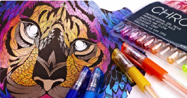 Free Chromatek Professional Gel Pens