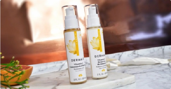 Free Derma E Vitamin C Renewing Moisturizer And Concentrated Serum