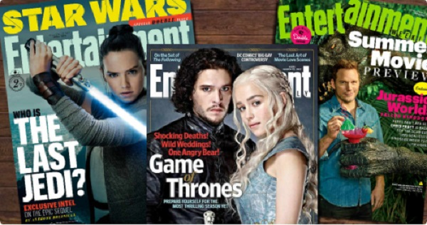Free Entertainment Weekly! Subscription