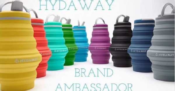 Free HYDAWAY Collapsible Water Bottle (LAST CHANCE TODAY)