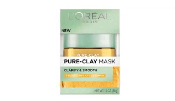 Free L'Oreal Pure-Clay Yuzu Mask
