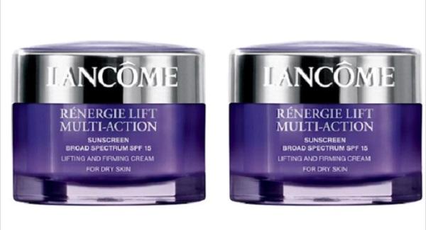 Free Lancome Rénergie Lift Multi-Action Day Cream
