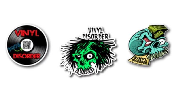Free Vinyl Disorder Stickers