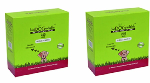 Free bioDOGradable Dog Waste Bags