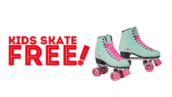 Kids Skate Free Program