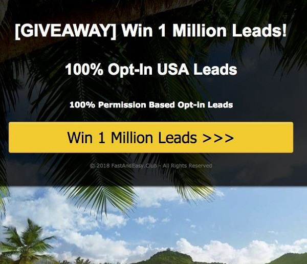 1 Million Leads Giveaway