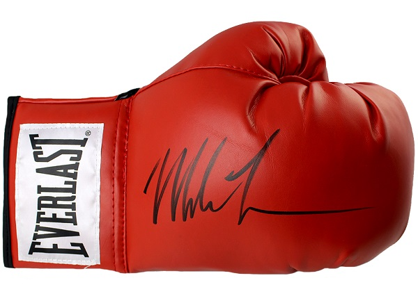 Autographed Boxing Glove Giveaway