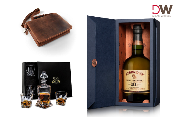 Redbreast 21 Single Pot Still Irish Whiskey $600 Decanter And Glasses Package Giveaway