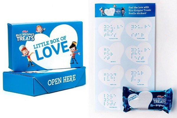 Free Rice Krispies Love Notes Braille Stickers