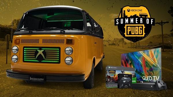 PlayerUnknown's Battleground Bus Giveaway