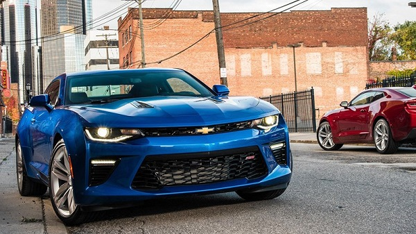2018 Chevrolet Camaro AND A Texas Speedway Vacation Sweepstakes