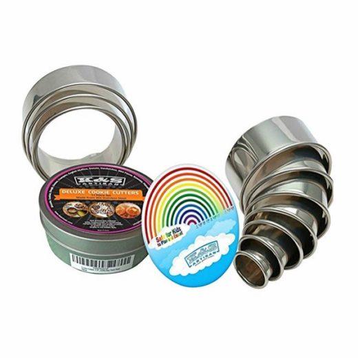 K&S Artisan Heavy Duty Round Cookie 11 Piece Cutter Set Giveaway