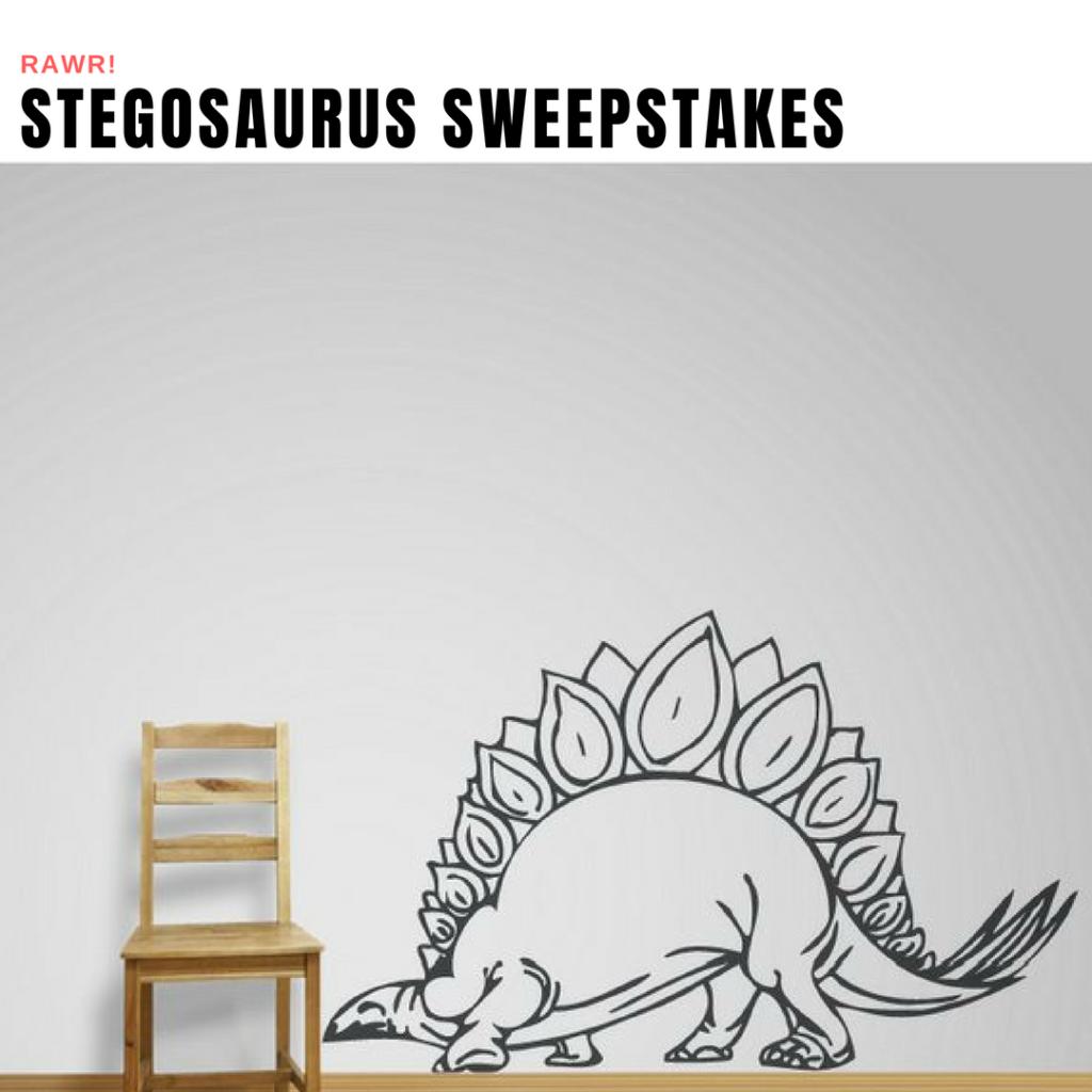 Stegosaurus Sweepstakes