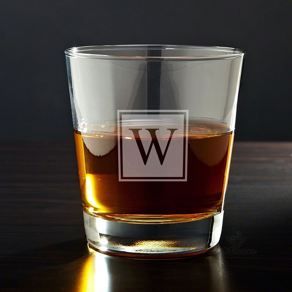 Personalized Whiskey Glass Giveaway