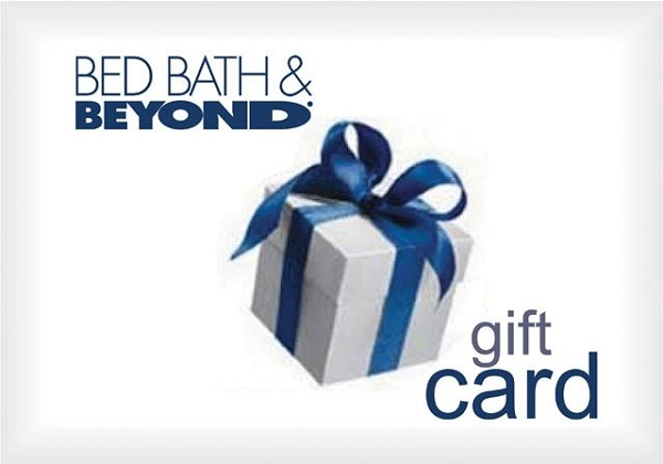 Bed Bath & Beyond Gift Card Giveaway