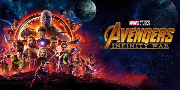 AVENGERS: INFINITY WAR on Blu-Ray Combo Giveaway
