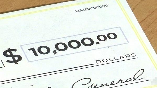 $10,000 Check Sweepstakes