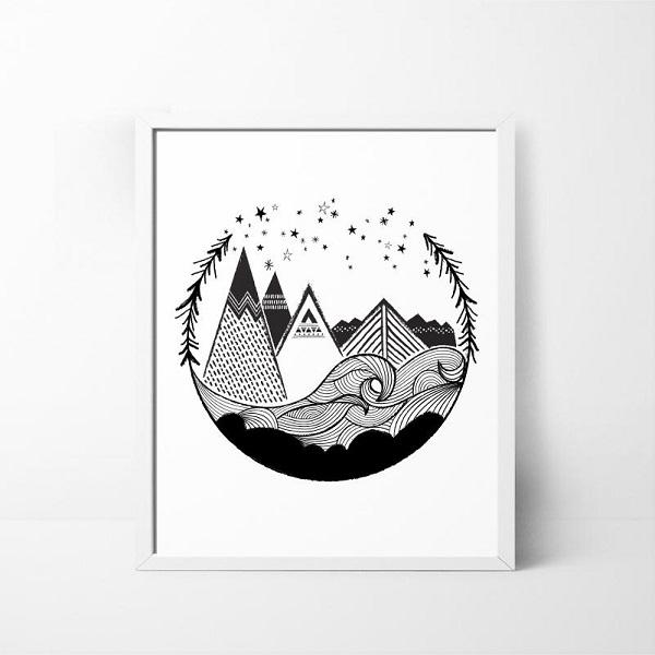 8×10 Art Print Giveaway